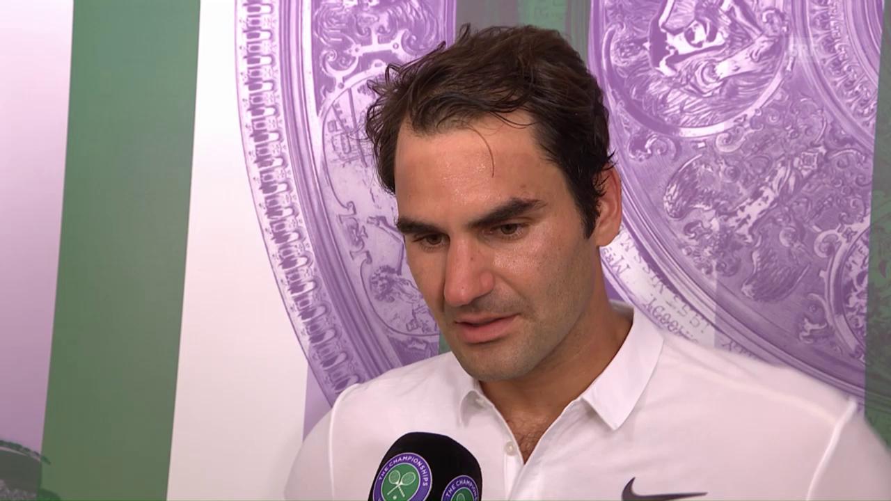 Interview mit Roger Federer (englisch)