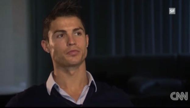 Video «Cristiano Ronaldo über die Wahl zum Weltfussballer des Jahres (englisch)» abspielen