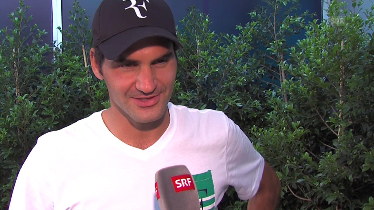 Tennis: Roger Federer in Melbourne zu seinem Gesundheitszustand