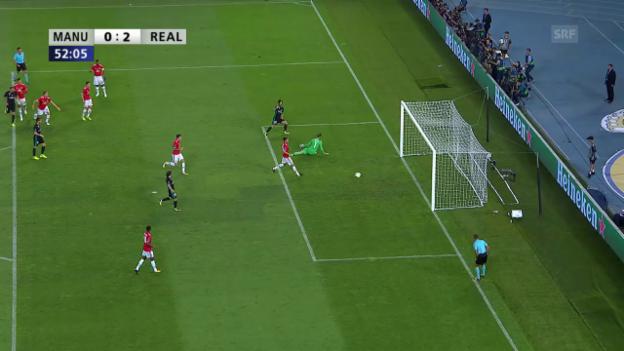 Video «Isco und Bale spielen die United-Abwehr aus» abspielen