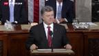 Video «Poroschenko spricht vor US-Kongress» abspielen
