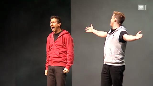Bei der Premiere von «Divertimento» und ihrem Programm «Gate 10»