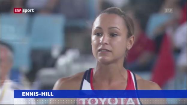 Video «WM-Verzicht von Olympia-Heldin Ennis-Hill («sportaktuell»)» abspielen