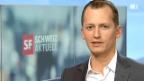 Video «Ein Schockmoment für Moderator Weinmann» abspielen
