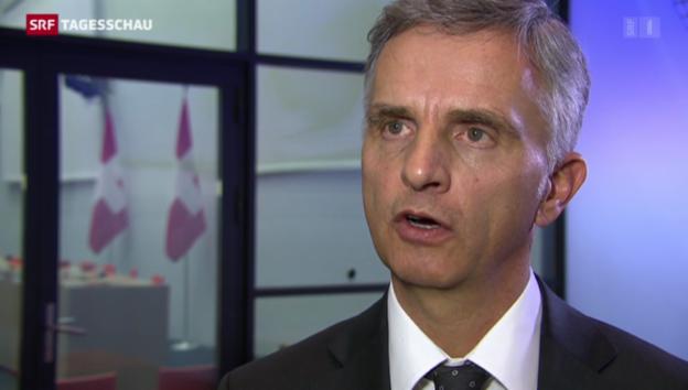 Video «Zwei Bundesräte reisen nach Sotschi» abspielen