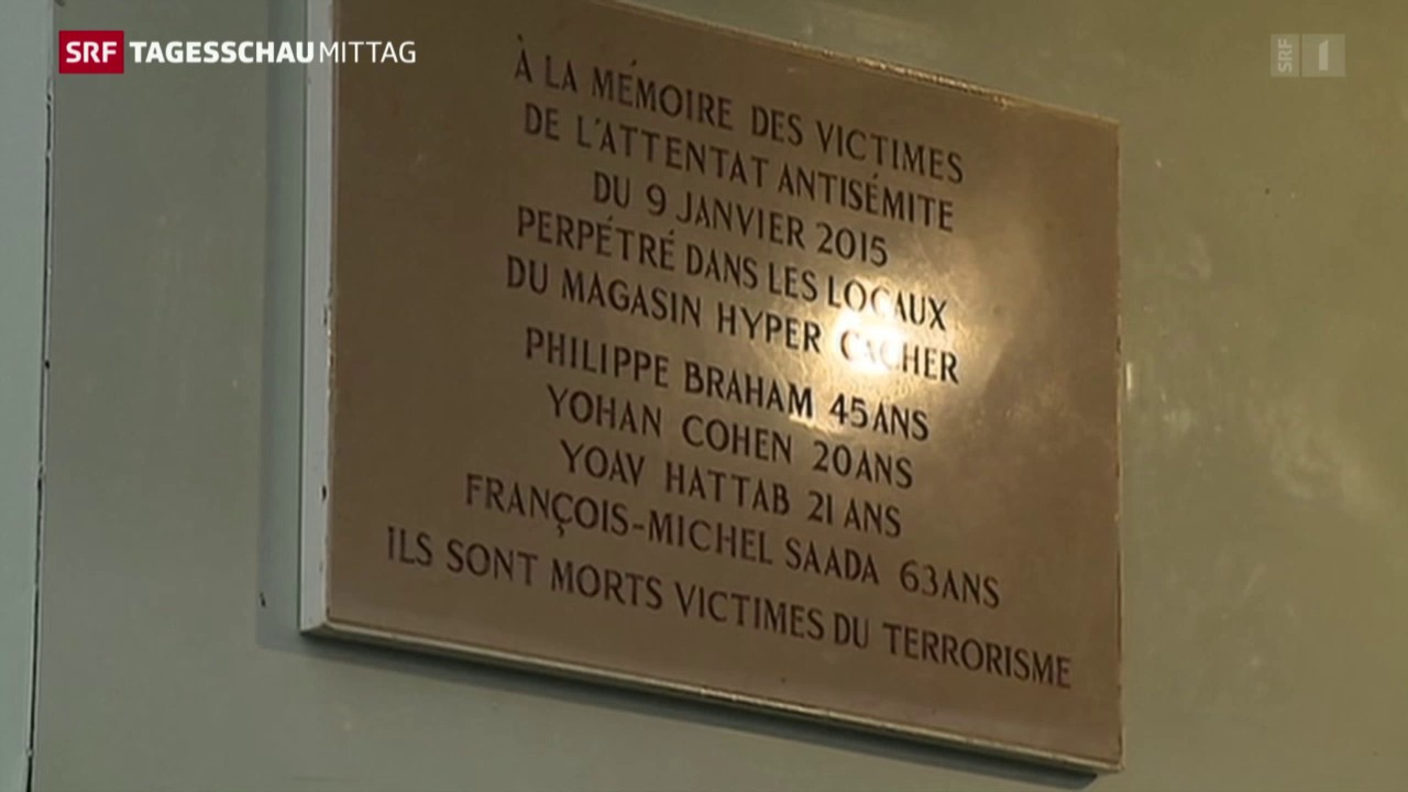 Gedenktafel in Paris enthüllt