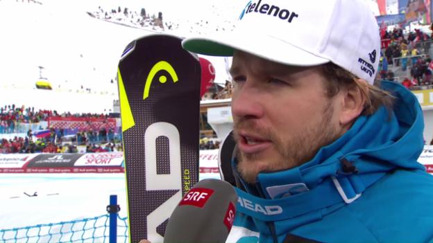 Video «Jansrud: «Erik hat uns gezeigt, wie man fahren muss»» abspielen