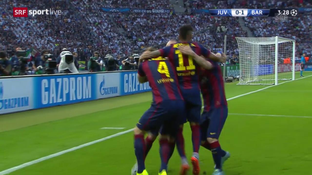 Fussball: Champions League, Final Juventus - Barcelona, Highlights