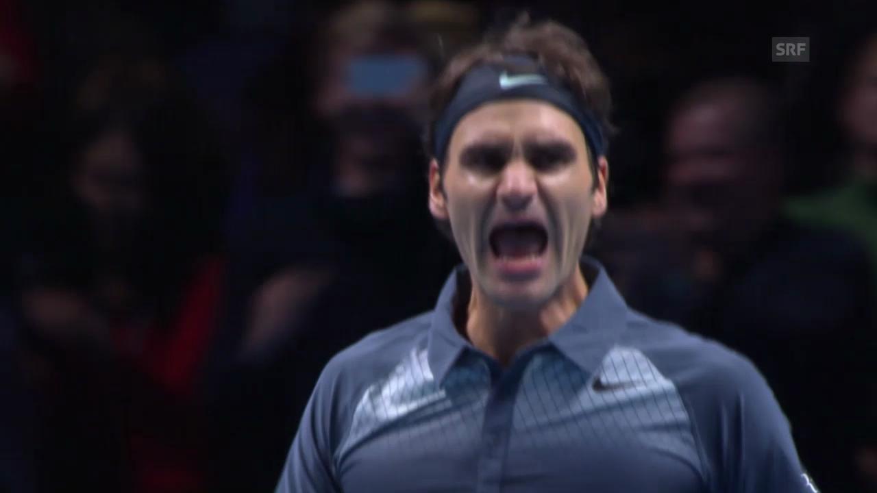 Federer - Del Potro: Die Highlights («sportlive»)