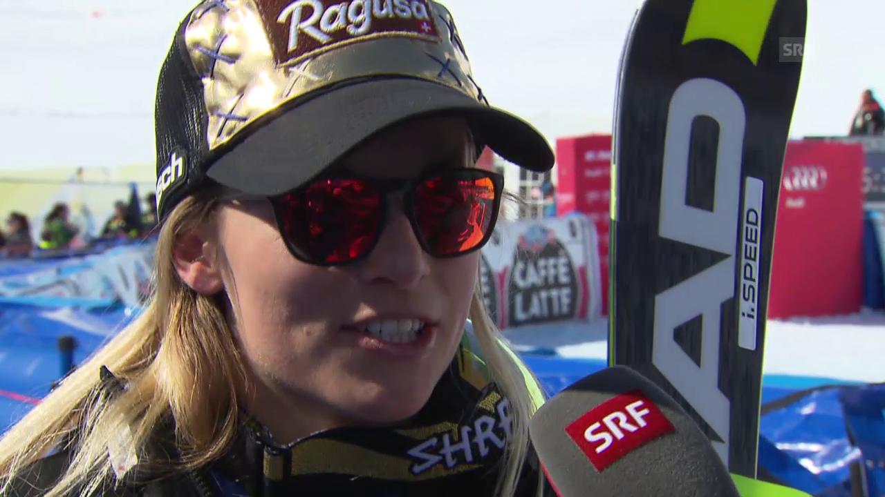 Lara Gut nach dem Super-G-Disziplinen-Sieg: «Es war harte Arbeit»