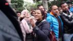 Video «Ausschreitungen in Tunesien» abspielen