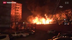 Video «Mehrere Tote bei Explosion in Ankara» abspielen