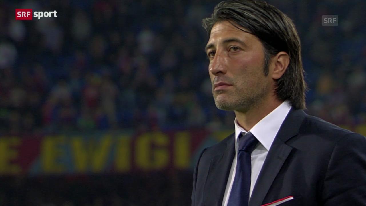 Spielbericht Basel - Sion («sportaktuell»)