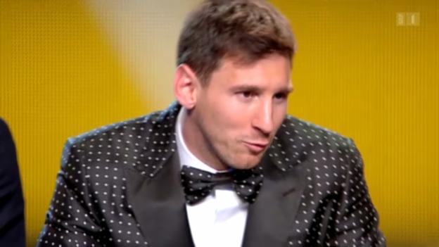 Video «Lionel Messi und seine Vaterfreuden» abspielen
