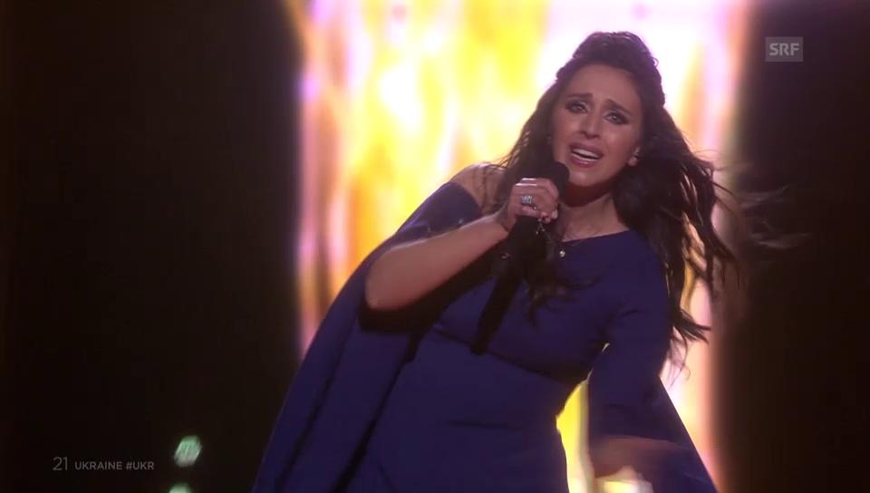 Die Ukraine gewinnt den «Eurovision Song Contest»: Jamala mit «1944»