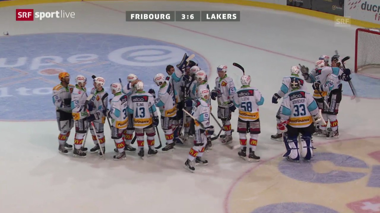 NLA: Fribourg - Lakers