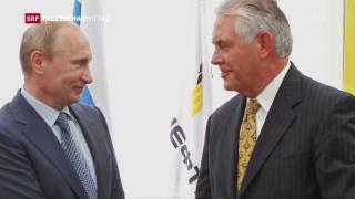 Video «Donald Trump besetzt den Aussenminister-Posten» abspielen