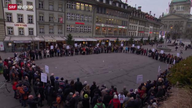 Video «FOKUS: Durchsetzungsinitiative mobilisiert die Massen» abspielen