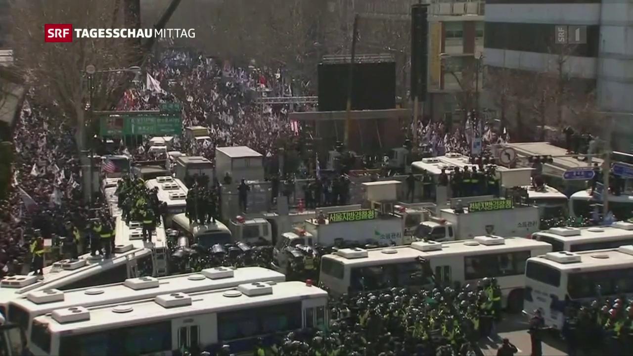 Südkorea entmachtet Präsidentin