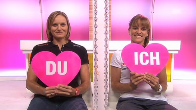 Video ««Ich oder Du» mit Simone Kuhn und Nadine Zumkehr» abspielen