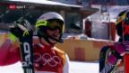 Video «Holdener verliert Hundertstel-Krimi – gewinnt aber Silber» abspielen