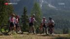 Video «Kick-off zur Heim-WM der Schweizer Mountainbiker» abspielen