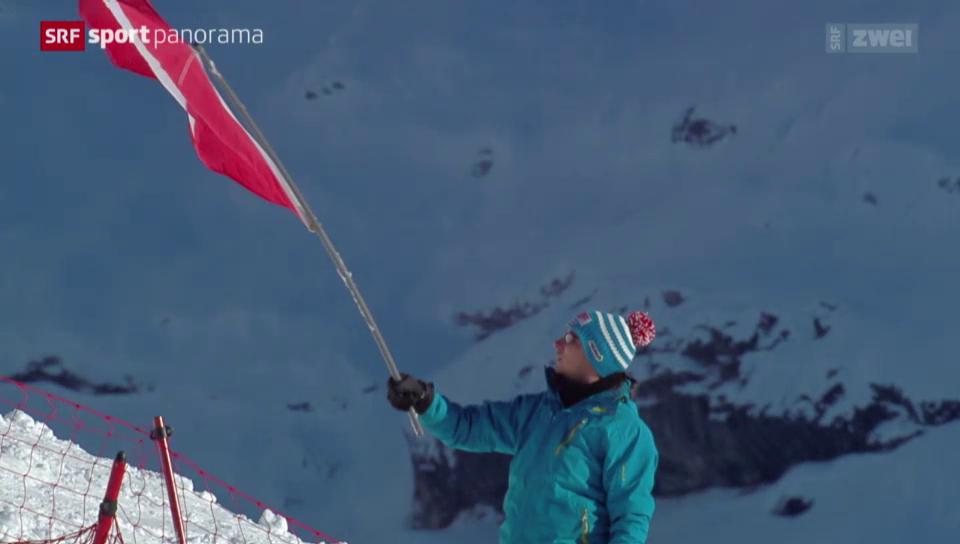 Ski alpin: Weltcup, Männer-Abfahrt in Wengen