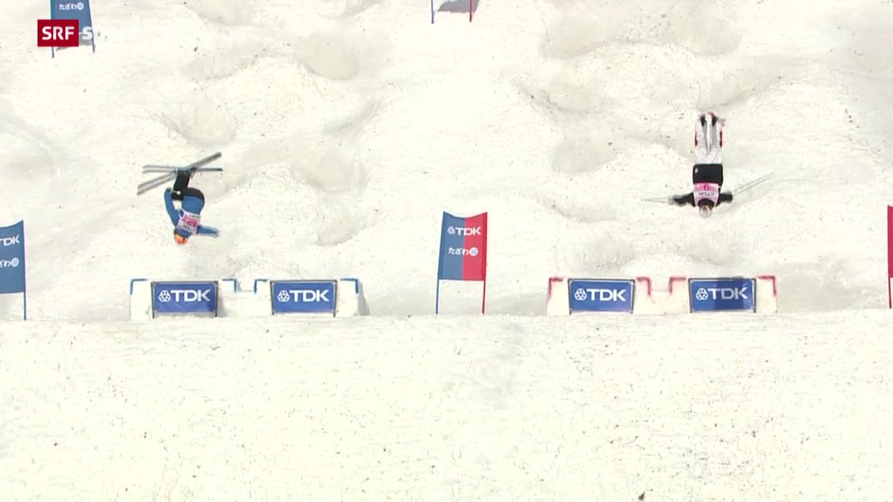 Weltcupsieg für die Schweiz auf der Buckelpiste