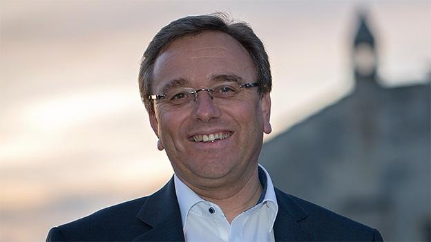 Roberto Schmidt wirbt für das Eidgenössische in Brig