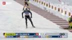 Video «Biathlon: Sprint-Weltcup Männer und Frauen» abspielen