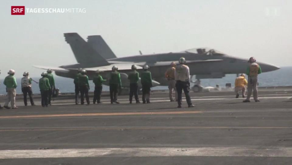 USA gehen weiter gegen den IS vor