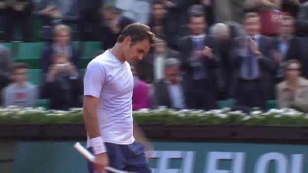 Video «Zusammenfassung Federer - Devvarman» abspielen