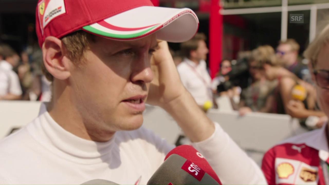 Vettel: «Ein bisschen bitter, wenn man so weit weg ist»
