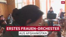 Link öffnet eine Lightbox. Video Afghanisches Frauenorchester: Trotz Todesstrafe auf Europatournee abspielen
