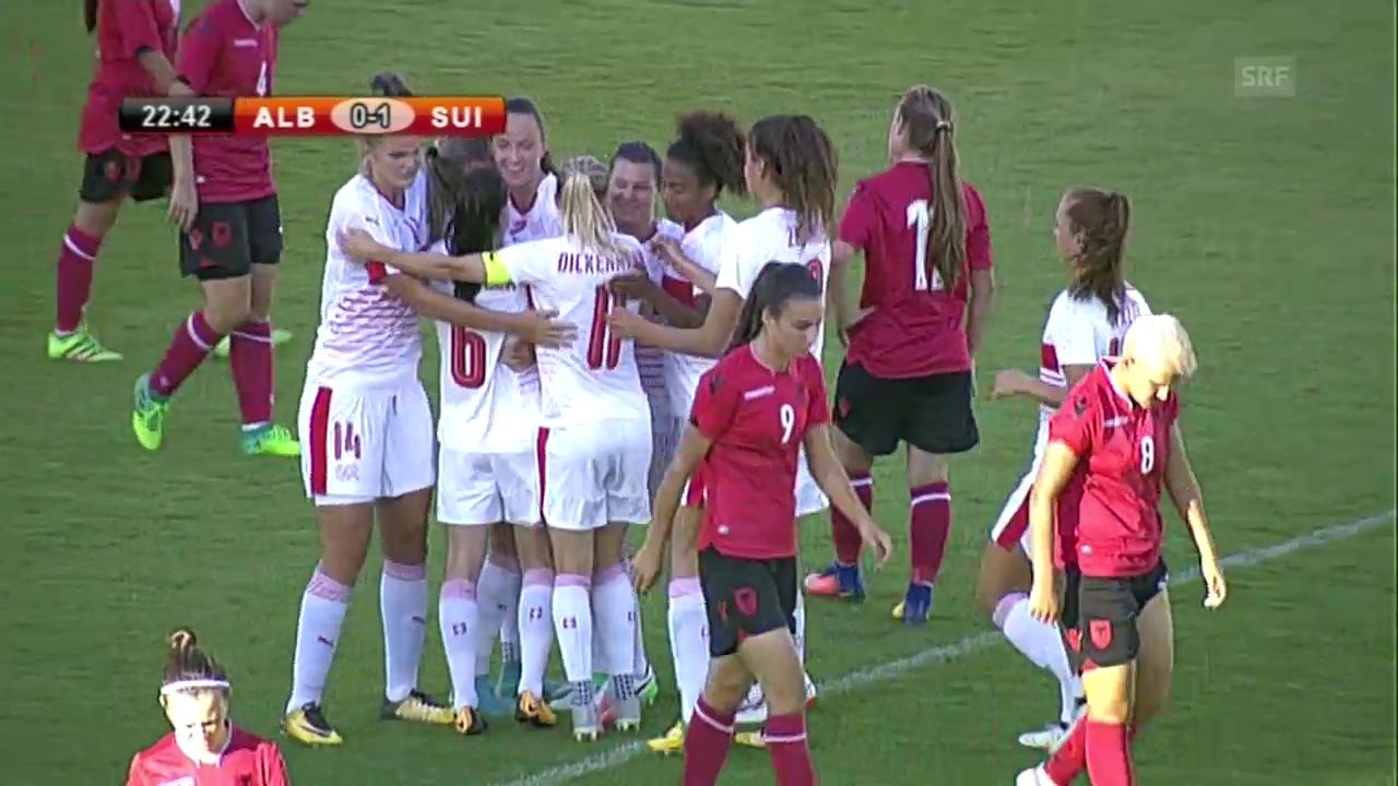 Die Schweiz bezwingt Albanien
