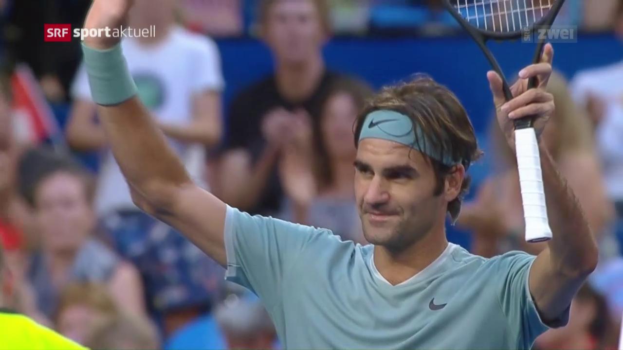 Roger Federers erfolgreiches Comeback