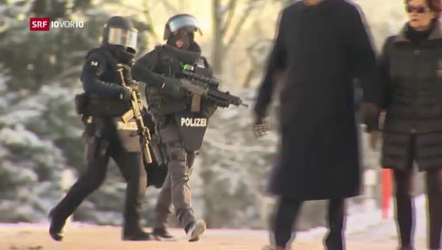 Video «Mutmasslicher Hanfproduzent schiesst auf Polizisten» abspielen