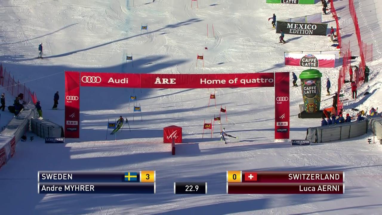 Aerni holt den einzigen Punkt für die Schweiz