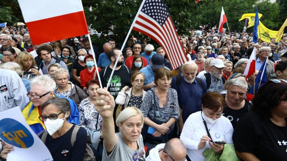 Grosse Sorge um Medienfreiheit in Polen