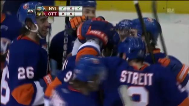 Video «Die Tore der Islanders» abspielen