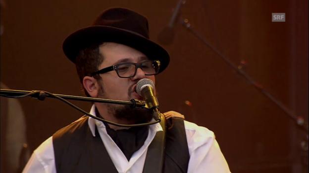 Video «Marc Amacher & Band - «Roots Boy Boogie»» abspielen