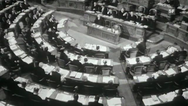 Archivperle: «Unser Parlament» Teil 1 & 2