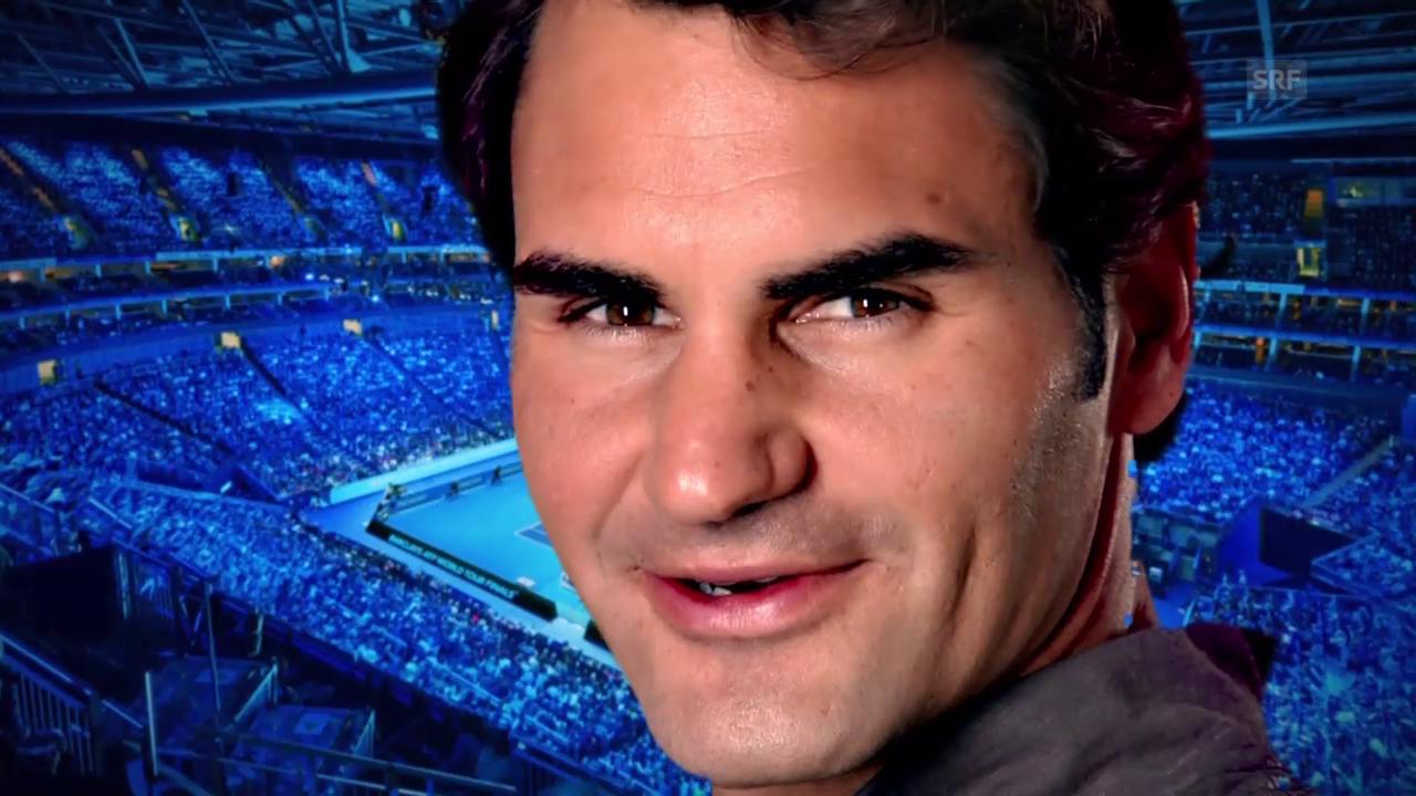 Tennis: ATP Finals, Porträts von Federer und Berdych