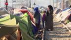 Video «Zusammenstösse zwischen Flüchtlingen» abspielen
