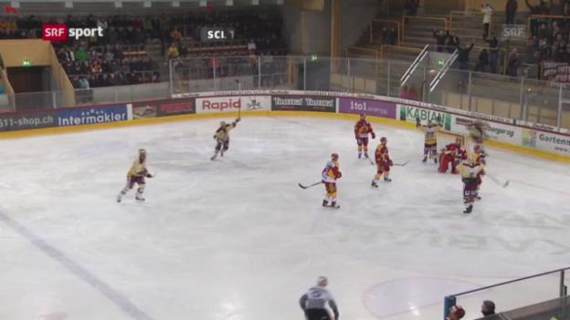 Video «Eishockey: SCL Tigers - Genf» abspielen