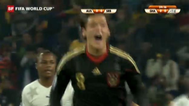 Video «WM 2010: Ghana - Deutschland» abspielen