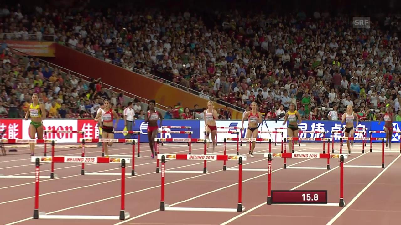 Halbfinals über die 400 Meter Hürden