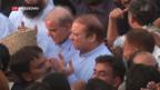 Video «Pakistans Ex-Premier Sharif kommt frei» abspielen