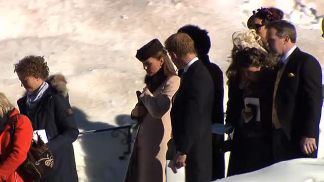 Die britischen Royals in Arosa