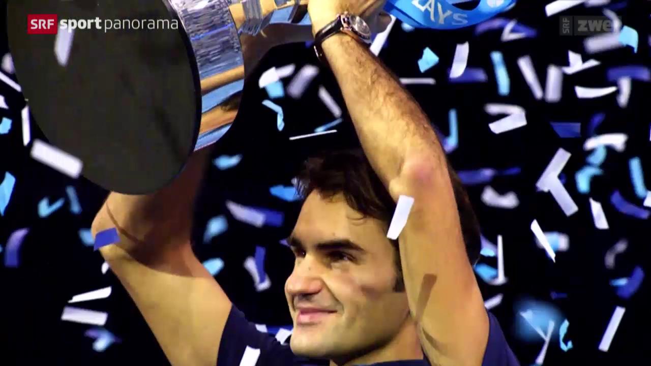 Tennis: ATP Finals in London, die Schweizer